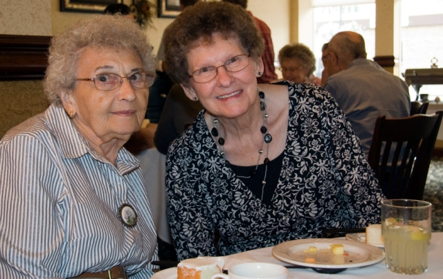 Lorraine and Gladys Web